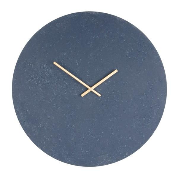 Ceas de perete din lemn House Nordic Paris, ⌀ 60 cm, gri