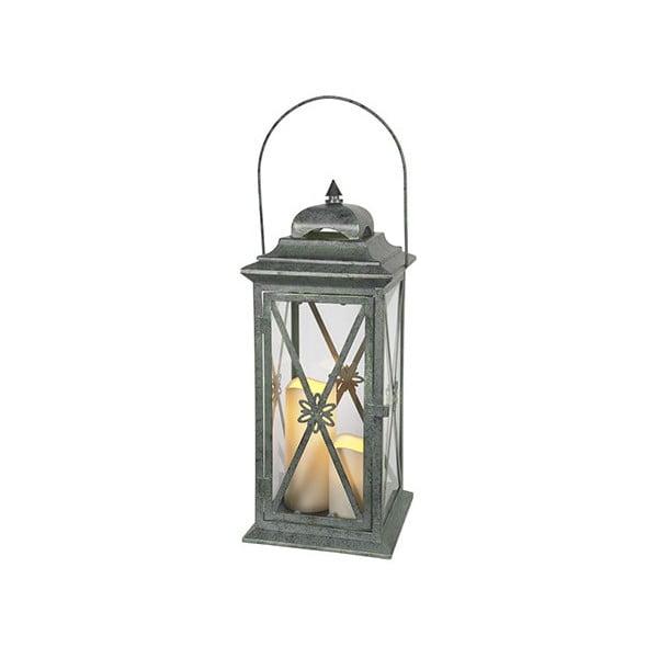 Zelená LED lucerna Best Season Window, 50 cm
