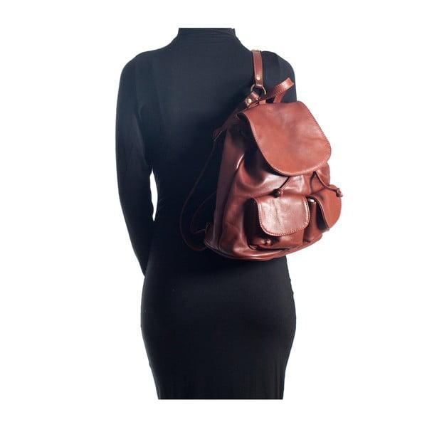 Kožený batoh Sofia Cardoni 2127 Marrone