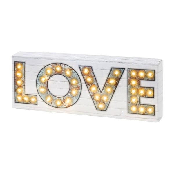 Svítící dekorace Love