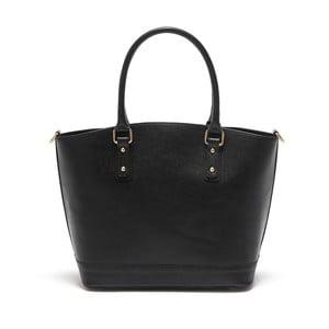 Černá kožená kabelka Isabella Rhea no. 464
