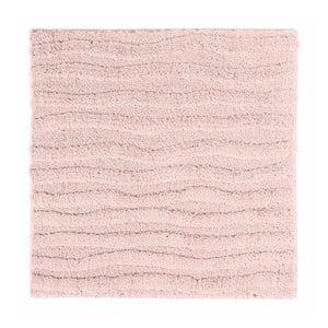 Růžová koupelnová předložka Aquanova Taro, 60x60cm
