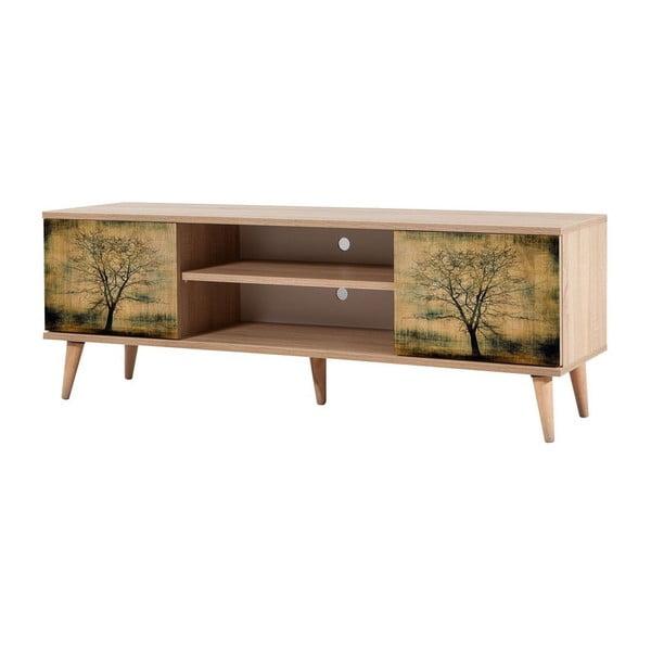 Dřevěný TV stolek Fokas Tree