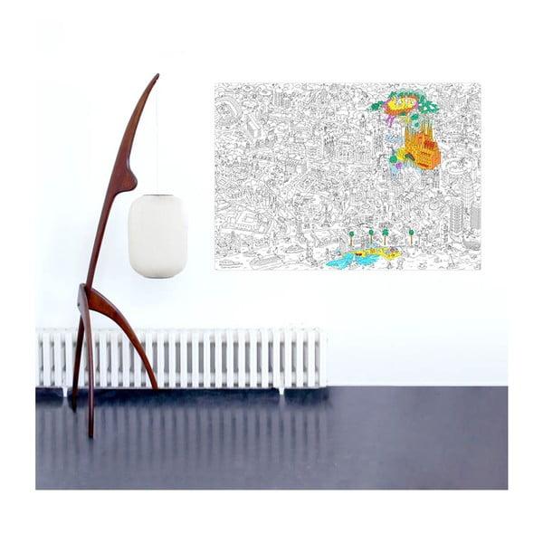 Omalovánka OMY Barcelona (70 x 100 cm)