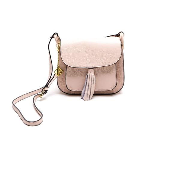 Kožená kabelka Isabella Rhea 1155, růžová
