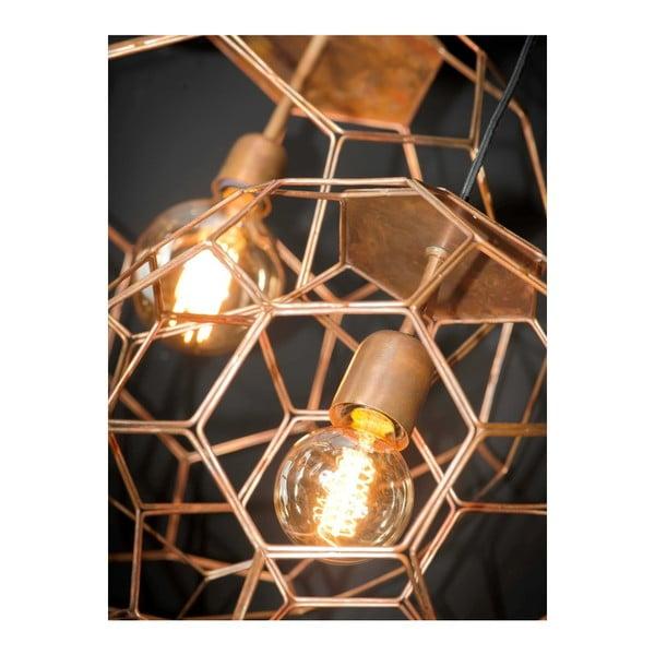 Závěsné svítidlo v měděné barvě Citylights Marrakesh, ⌀55cm