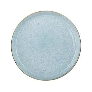 Bledě modrý kameninový mělký talíř Bitz Mensa, průměr 27 cm
