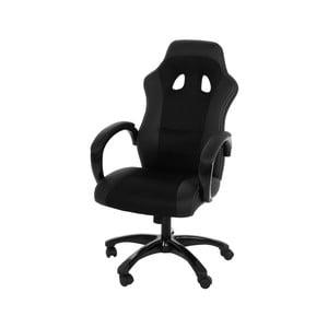 Černá kancelářská židle Actona Race