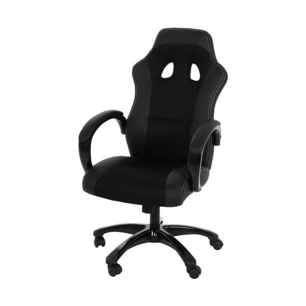 Czarny fotel biurowy Actona Race