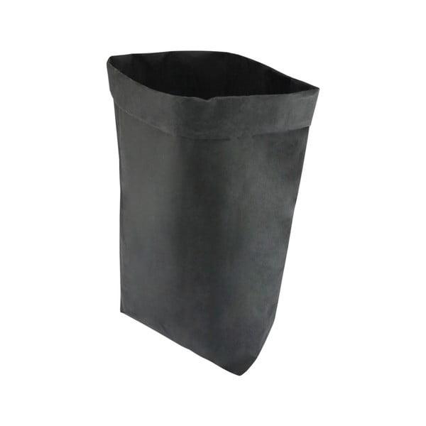 Suport pentru ghiveci din hârtie lavabilă Furniteam Plant, înălțime 62 cm, negru