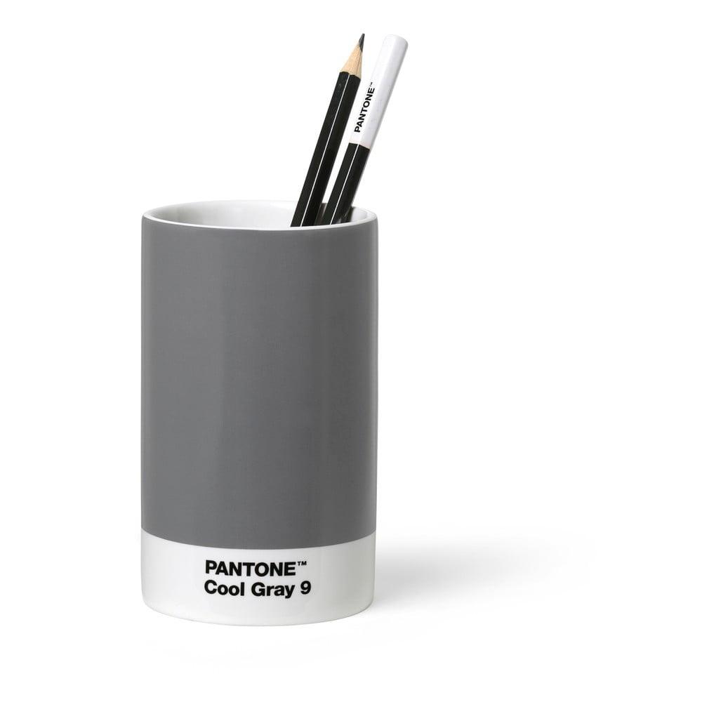 Šedý keramický stojánek na tužky Pantone