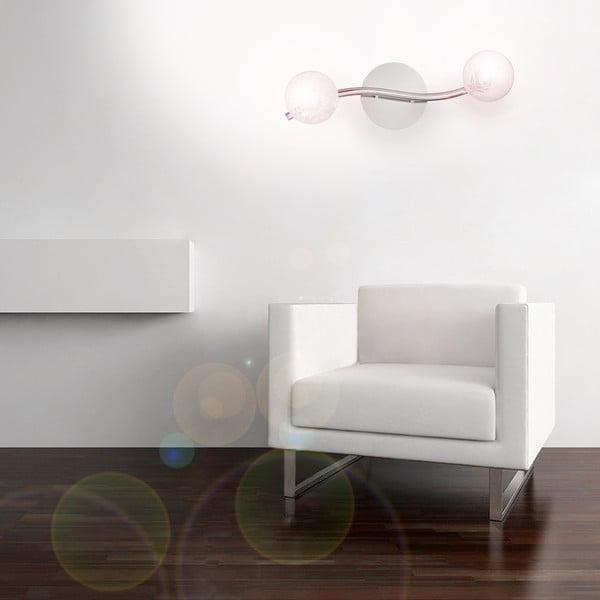 Nástěnné světlo Crido White Bulbs
