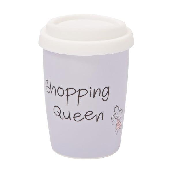 Menší cestovní hrnek Shopping Queen