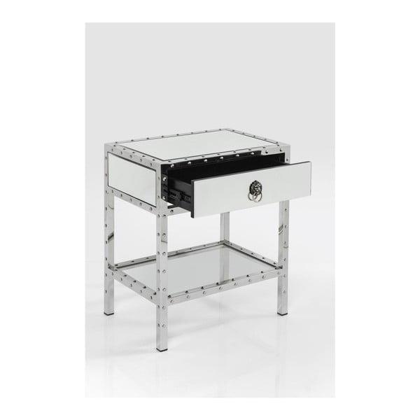 Noční stolek se zásuvkou Kare Design Rivet