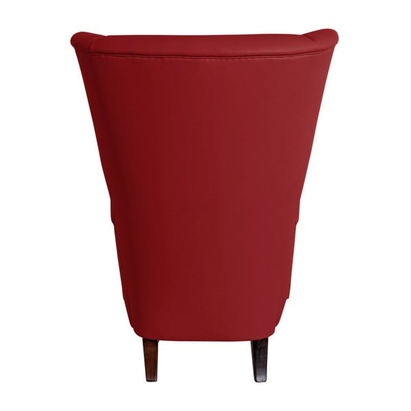 Červené křeslo ušák Max Winzer Agnetha