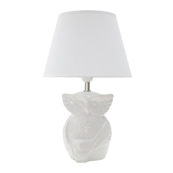 Bílá stolní lampa Mauro Ferretti Gufo