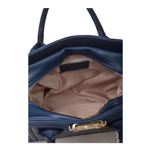 Kožená kabelka Markese 6397 Blue