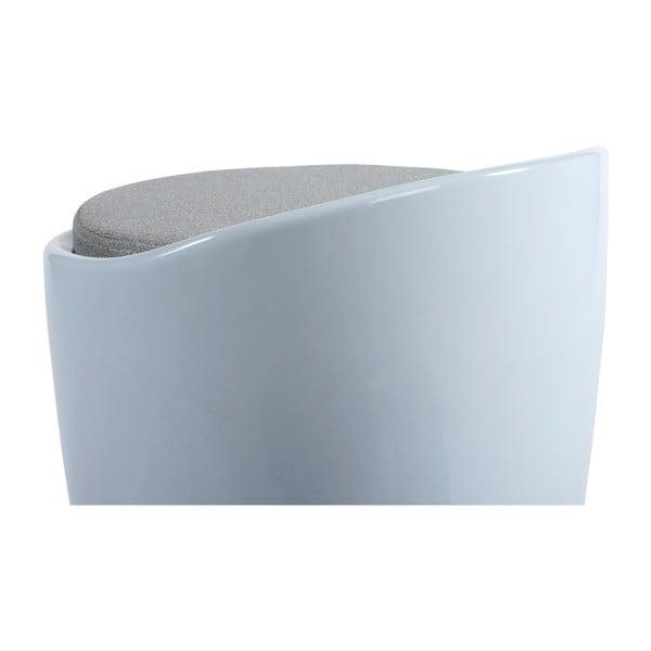 Bílá stolička s úložným prostorem Kokoon Ese