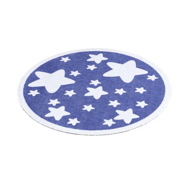 Dětský fialový koberec Zala Living Star, ⌀100cm