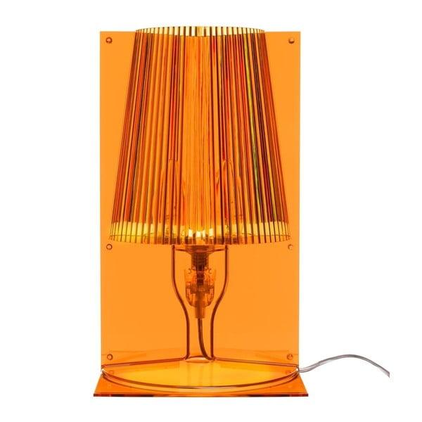 Lampička Take, oranžová