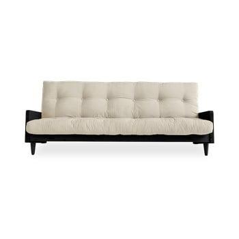 Canapea extensibilă Karup Design Indie Black/Beige de la Karup Design