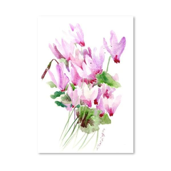 Plakát Pink Cyclamen od Suren Nersisyan