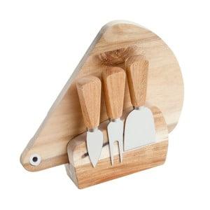 Set tocător și cuțit pentru brânzeturi, Brandani Acacia