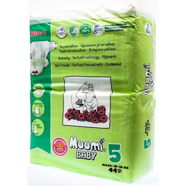 Scutece pentru bebeluși Muumi Baby Maxi, mărimea 5, 3 x 44