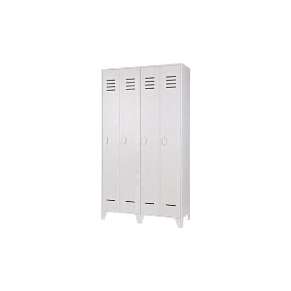 Dvoukřídlá skříň Stijn, bílá