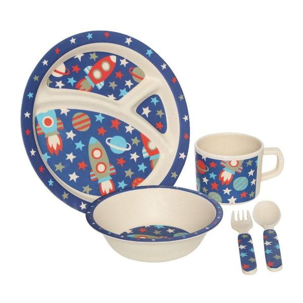 Dětský set nádobí Space, 5 ks