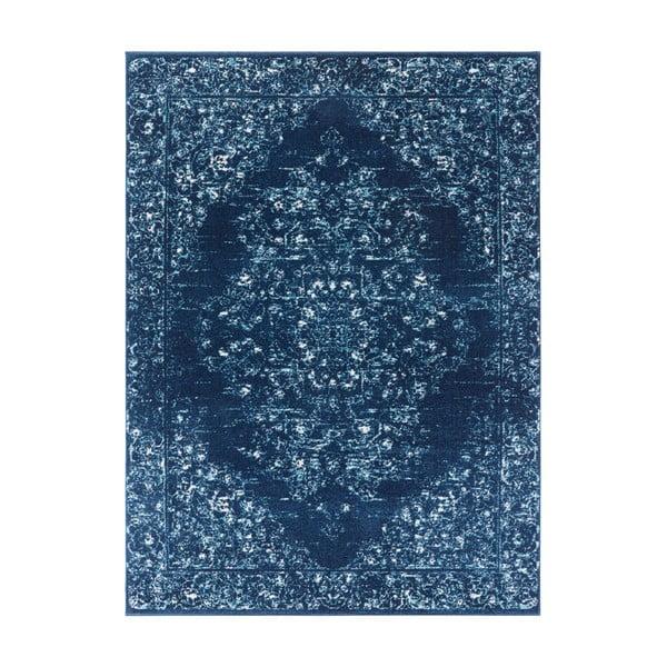 Ciemnoniebieski dywan Nouristan Pandeh, 160x230 cm