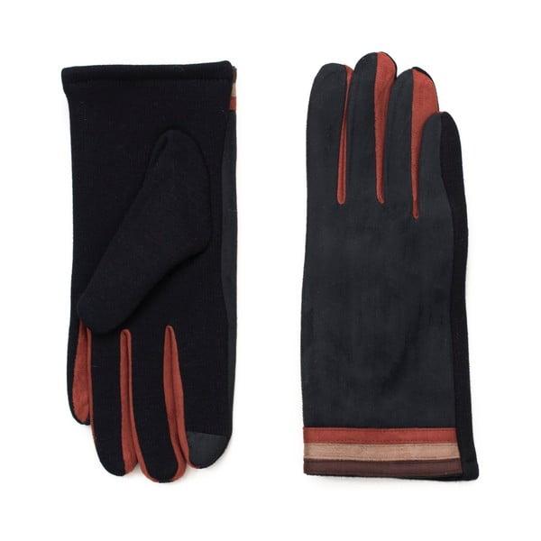 Černohnědé rukavice Korres