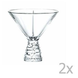 Sada 2 skleniček na koktejly z křišťálového skla Nachtmann Punk, 230ml
