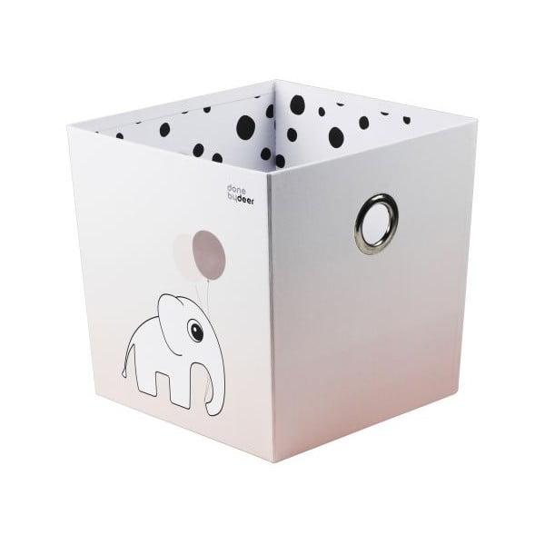Úložný box Happy Dots, růžový