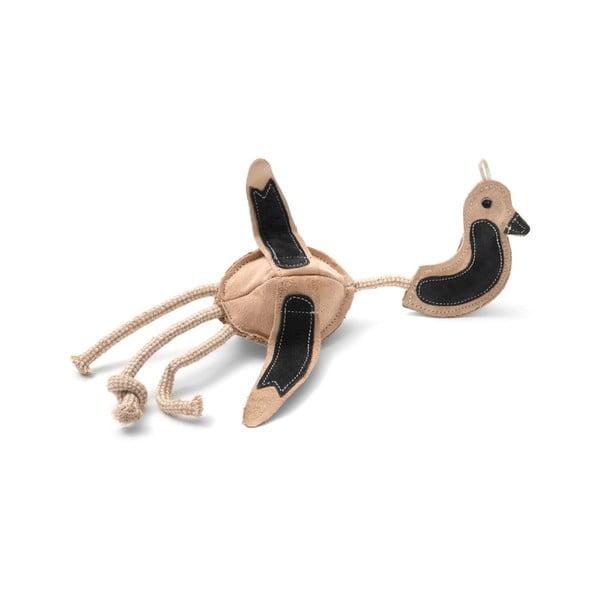 Ručně vyrobená hračka pro psy z přírodní kůže Marendog Bird
