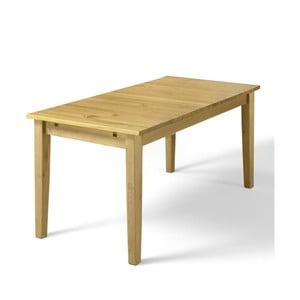 Jídelní stůl z borovicového masivu Støraa Daisy, 75x120cm