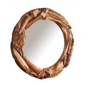Nástěnné zrcadlo z recyklovaného dřeva SOB