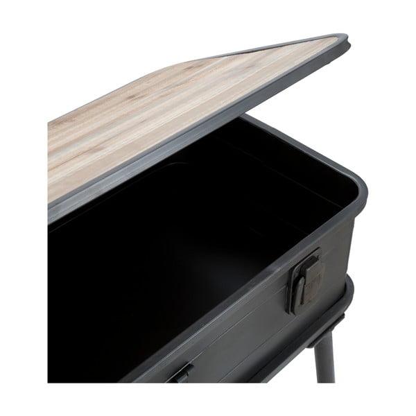 Konzolový stolek Mauro Ferretti Industry,šířka 80cm