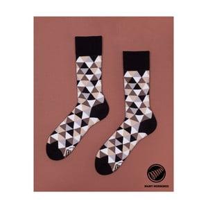 Ponožky Many Mornings Coffee Triangles, vel. 43/46