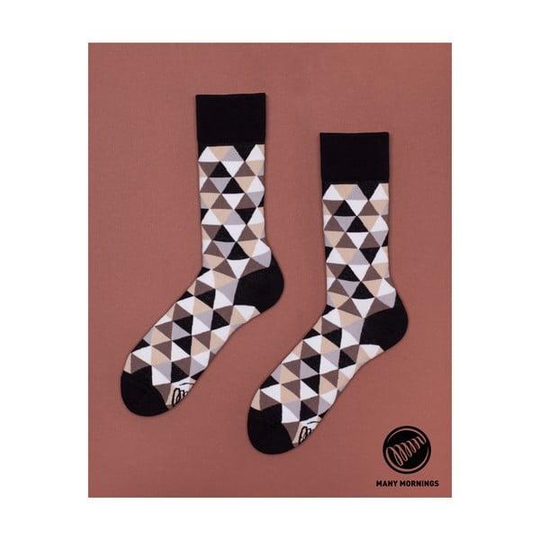 Ponožky Many Mornings Coffee Triangles, vel. 39/42
