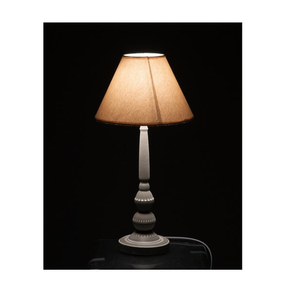 Stolní lampa Classic Beige and Grey