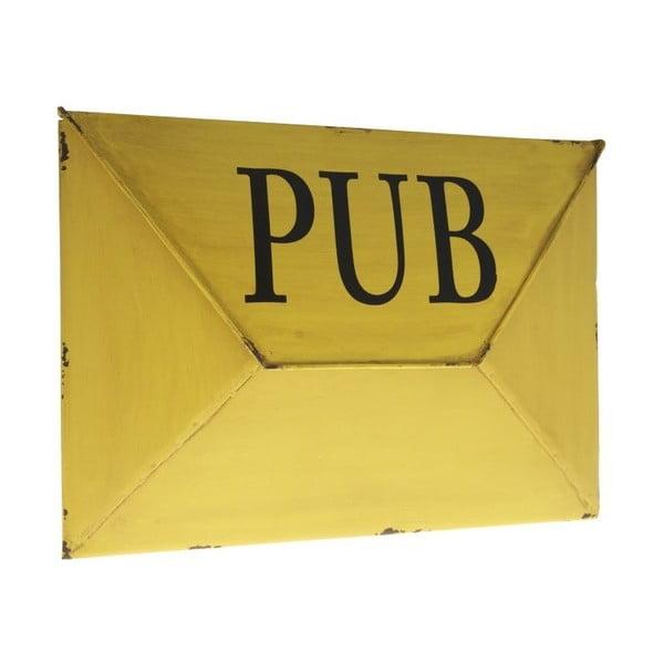 Schránka na dopisy Antic Line Pub Jaune