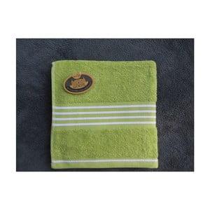 Ručník Rio Positive Lime/White Stripes, 30x50 cm