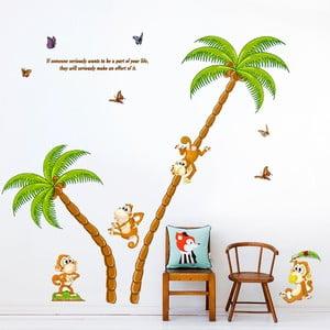 Samolepka na stěnu Monkey Island, 60x90 cm