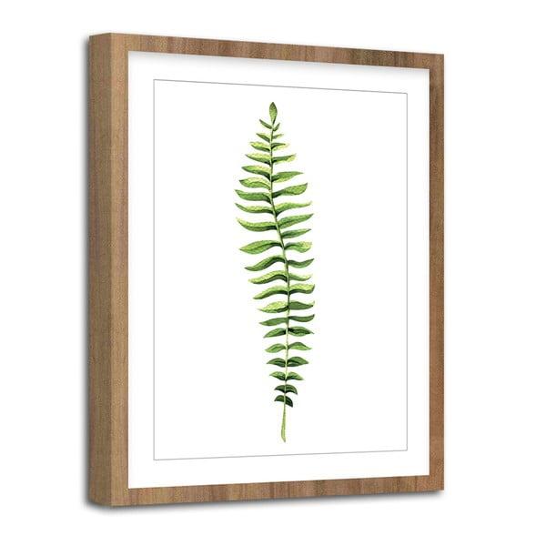 Tablou Styler Modernpik Greenery Wooden Fern, 30 x 40 cm
