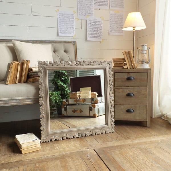 Zrcadlo Bergamo Natural Grey