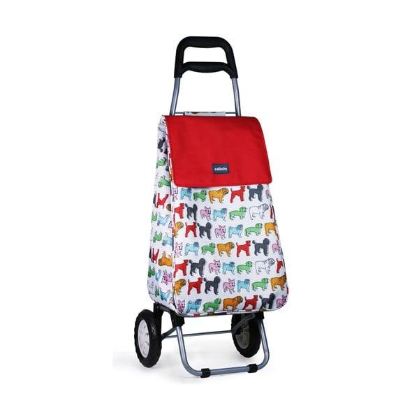 Pojízdná nákupní taška Pug