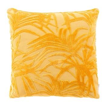 Pernă cu umplutură Zuiver Miami, 45 x 45 cm, galben de la Zuiver