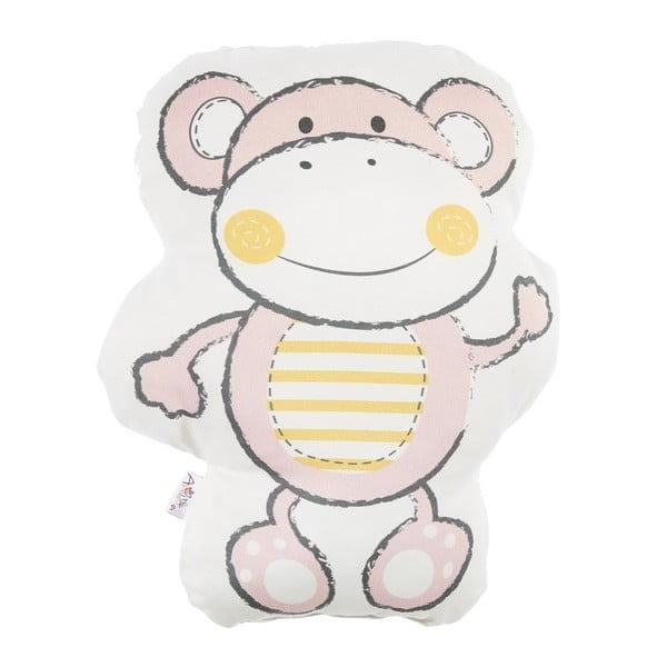 Pernă din amestec de bumbac pentru copii Apolena Pillow Toy Beatto, 31 x 36 cm, roz