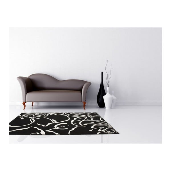 Koberec Funky 1656 Black, 120x170 cm